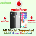 Vodafone UK Unlock Code iPhone 4 5 SE 6 7 8 X XS XR 11 12 Pro Max Fast Unlocking <br/> ✅1-48 Hours ✅All iPhone models ✅ ONLY IMEI REQUIRED
