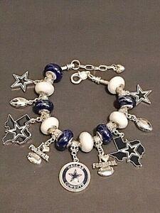 Dallas Cowboys Charm Bracelet. PRE SEASON SPECAIL PRICE CUT