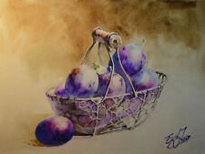 Original painting by American Artist Grace Jung / Still Life #0251LC19