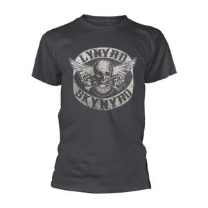 Lynyrd Skynyrd - Biker Patch Charcoal Shirt