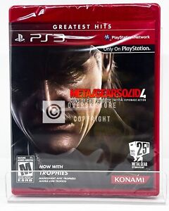 Metal Gear Solid 4 Guns of the Patriots Greatest Hits - PS3 - New | Factory Seal