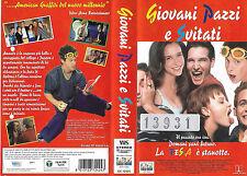 GIOVANI PAZZI E SVITATI (1998) vhs ex noleggio