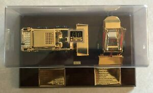 Bobcat 763 & M200 - Gold 40th Anniversary - Loader Diecast Set Scale Models Rare