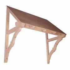 Eastacombe - Timber Door Canopies-Wooden front door porch canopy gallows bracket