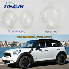 One Pair Automotive Lampshad Headlight Clear Lens Cover For BMW MINI R56 09-12