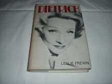 DIETRICH BY LESLIE FREWIN PUBLISHED BY STEIN & DAY IN 1967