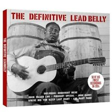 Lead Belly - Definitive Lead Belly [New CD] UK - Import
