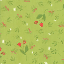 """MODA FABRIC """"THE FRONT PORCH""""  PISTACHIO   37541 14 QUILTING SEWING 100% COTTON"""