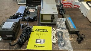 Rare Vintage 1982 Panasonic CT-3311 Micro Color TV Television Tested Working