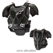 Alpinestars bionic chest protector negro pecho tanques Motocross Enduro bns