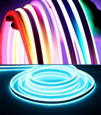 1-5M DC 12V Outdoor LED Strip Neon Rope Light Waterproof Flexible Lighting IP65