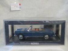 Peugeot 404 Cabriolet 1967 mendoza Blau blue 1:18 Norev