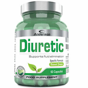Anderson Diuretic 60 capsule Drenante Tarassaco Pilosella Diuretico Depurativo