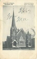 Springfield Missouri~Grace Methodist Episcopal Church~1907 B&W