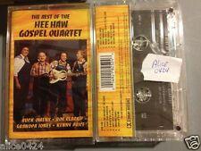 The Best of the HEE HAW GOSPEL QUARTET  Cassette Dust on the Bible,Amazing Grace