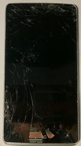 LG G Stylo 4 LG-H631 8GB Silver (Unknown) Cracked Glass LCD Fast Ship  Used