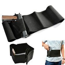Adjustable Belly Band Gun Holster Concealed Carry Pistol Waist Magazine Holder