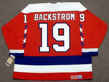 c30c0bd11eb NICKLAS BACKSTROM Washington Capitals CCM Vintage Home NHL Hockey Jersey