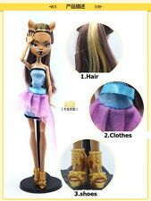 ever after high monster high doll Draculaura/Clawdeen Wolf/ Frankie Stein