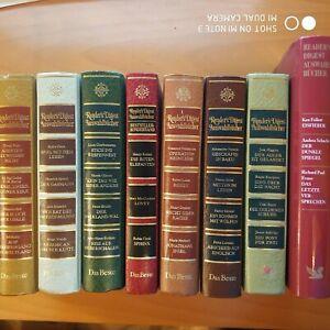 8 Bücher Readers Digest - Auswahlbücher 1977,1984,1985 , 2007