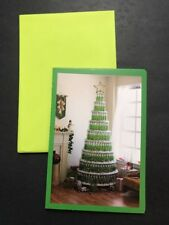 Lot of 7 Hallmark Shoe Box Christmas Tree Greeting Card Do You Beer What A Beer