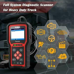 HEAVY DUTY DIESEL TRUCK DIAGNOSTIC SCANNER TOOL CODE READER PETERBILT KENWORTH