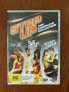 Step Up 1 - 3 DVD Region 4 LIKE NEW