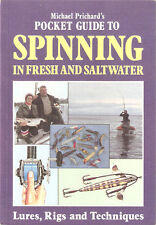 PRICHARD ANGLING BOOK POCKET GUIDE TO SPINNING IN FRESH AND SALT WATER paperback