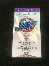 NBA- CHICAGO BULLS VS. UTAH JAZZ-NOV.23,1996 @UTAH- MICHAEL JORDAN SCORES 44