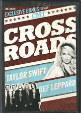 CMT Crossroads: Taylor Swift with Def Leppard (DVD) SHIPS FAST NO CASE NO ART