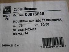 Eaton Cutler Hammer C0075E2B  Control Transformer NEW