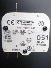 Diehl or Poltik Springwound Timer 120 MIN Tanning Bed  Type 601 T85  SPDT