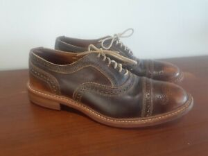Allen Edmonds Strandmok Brown 8D