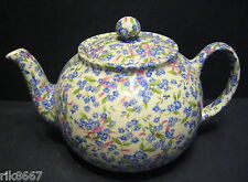 Heron CROCE CERAMICA forget-me-knot Chintz 6-8 TAZZA INGLESE TEA POT