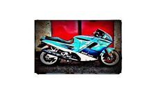 906 paso Bike Motorcycle A4 Photo Poster