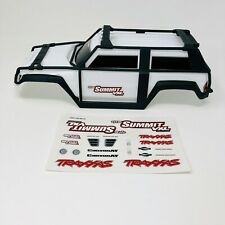 Traxxas Summit White 1/16 BodyShell - Body Shell - ExoCage - Genuine Part