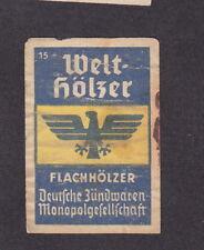 Ancienne  étiquette  Allumettes Allemagne  BN14300 Aigle