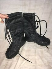 Moon Boot Black, Women's Shoes, Size 7B