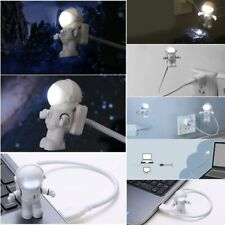 Cute Adjustable Reading Lamp Astronaut USB LED Night Light PC Notebook Spaceman