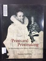 Prints & Printmaking Introduction To The History & Techniques Paperback Ex-Lib