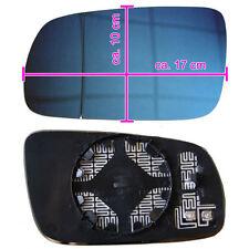 VW GOLF 4 IV Passat 3B Spiegel Spiegelglas Heizbar Blau getönt  Links