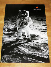 APPLE THINK DIFFERENT POSTER - BUZZ ALDRIN / 24 x 36 by STEVE JOBS 61 x 91 CM