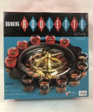 Shot Glass Roulette Set Drinking Game 12 Shot Glasses Party Game Fast Shipping