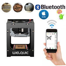 1500mw Bluetooth/USB DIY Laser Engraver Printer Cutter Engraving Cutting Machine