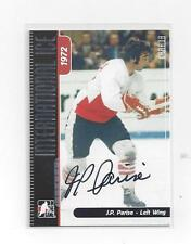 JP PARISE ITG INTERNATIONAL ICE 1972 SUMMIT SERIES AUTOGRAPHED CARD