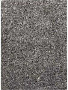 Grey Furniture Felt Pad Sheets 15x11cm Hardwood Flooring Protector 5mm Thick