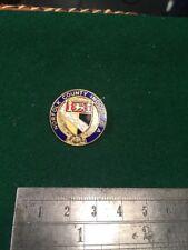 Lawn Bowls Enamel Badge Norfolk County Indoor Bowling Association.
