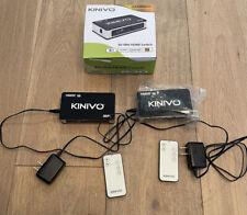 2X KINIVO 301 BN HDMI Switchers Never Used Open Box