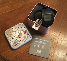 Fossil FSL DQ-1142 Men Digital Watch Stainless Steel Back Band New w Tags & Box