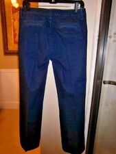 BANANA REPUBLIC DENIM TROUSER JEANS~Dark wash~Creased~29.5 inseam~39 hip~Size 28